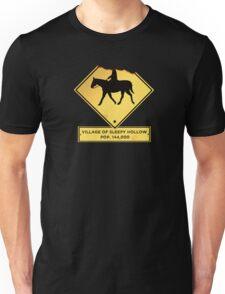 Headless Horseman Sign Unisex T-Shirt