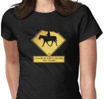 Headless Horseman Sign Womens Fitted T-Shirt