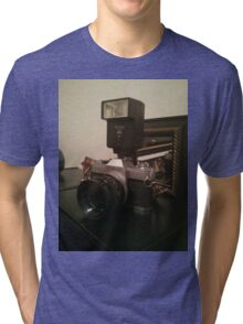 Old school canon camera :) Tri-blend T-Shirt