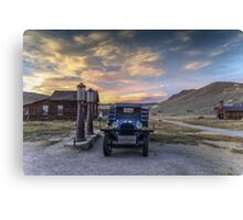 Dusk in Bodie  Canvas Print