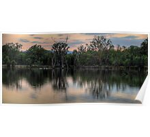 Reflections Australiana - Murray River , Australia - The HDR Experience Poster