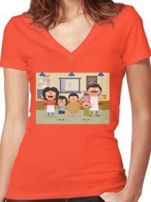 The Belchers Women's Fitted V-Neck T-Shirt