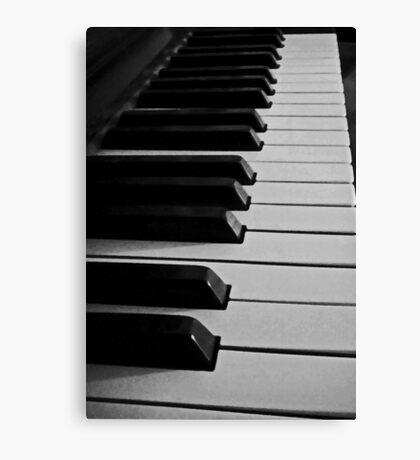 Let's make melody Canvas Print
