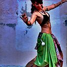 Belly Dancer (i) by Vivian V  Mairo