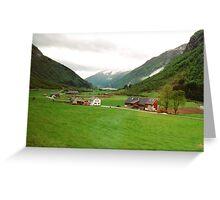 Rural Norway Greeting Card
