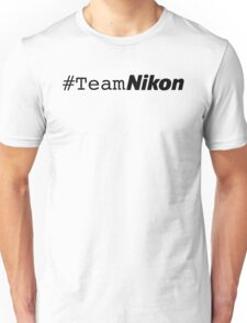 #teamnikon Unisex T-Shirt