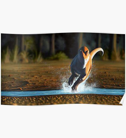 Allosaurus Sprint Poster