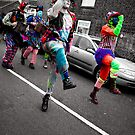 The Colourful Dance of Gogmagog. by Ruth Jones