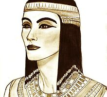 Casual Nefertiti by Shoaib Zaheeruddin