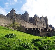 Carcassonne, France  by magicaltrails