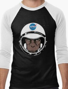 Apes to Mars Men's Baseball ¾ T-Shirt