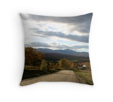 Lower Elmore Road  Throw Pillow