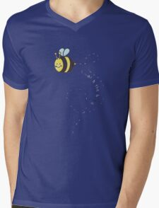 I Watch the Bees Mens V-Neck T-Shirt