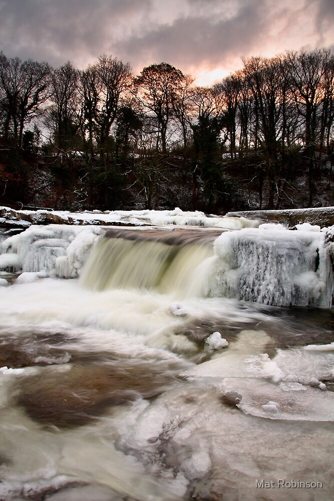 A Frozen River Swale by Mat Robinson