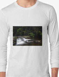 One Rainy Day at Gardeners Falls Long Sleeve T-Shirt