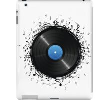 33 Vinyl Record Music Notes iPad Case/Skin