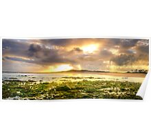 Sun Rays-Saltwater Reserve NSW Poster