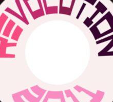 REVOLUTION 2011 Sticker