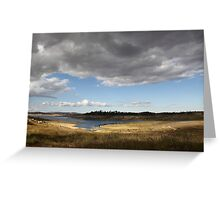 Big Stormy Sky Greeting Card