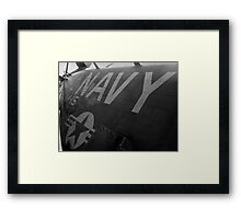 A Stalions Body Framed Print