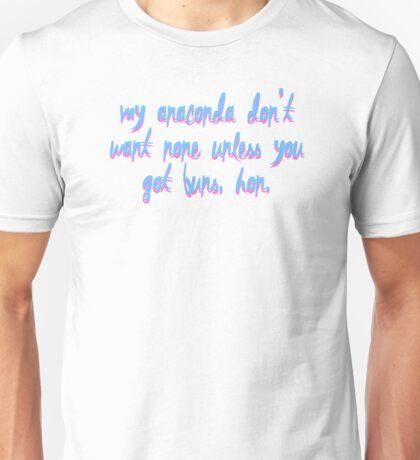 NICKI MINAJ - ANACONDA. Unisex T-Shirt