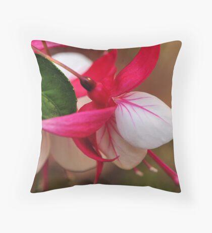 Fuschia - Bev Woodman Throw Pillow