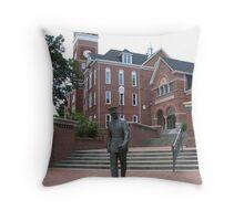 Cadet Mold - Clemson University, SC Throw Pillow