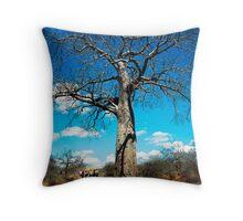 A Baobab Tree Throw Pillow