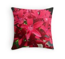 Flower close-up Throw Pillow