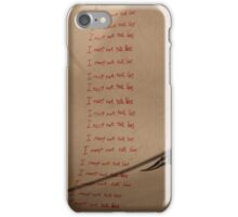 I must not tell lies - Harry Potter iPhone Case/Skin