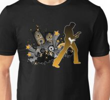 Classic Rock Guitar Player Unisex T-Shirt