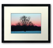Peaceful Air Framed Print