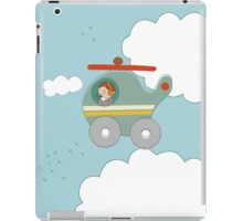H is for Helicopter iPad Case/Skin