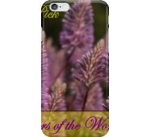Mulla Mulla  ...   Wildflowers of the World Challenge iPhone Case/Skin