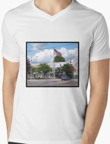 Nunda, New York Mens V-Neck T-Shirt