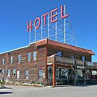 Hand Hotel, Fairplay, Colorado by Margaret  Hyde
