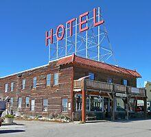 Hand Hotel, Fairplay, Colorado by Margaret  Hyde
