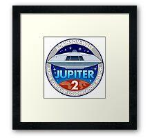 Jupiter 2 Mission Patch Framed Print