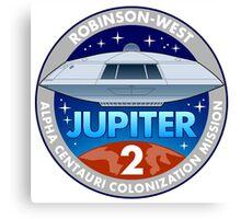 Jupiter 2 Mission Patch Canvas Print