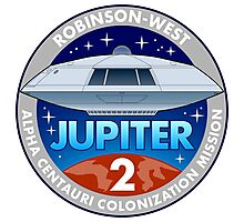 Jupiter 2 Mission Patch Photographic Print
