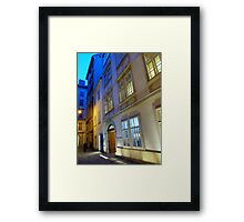 The spirit of the genius Framed Print