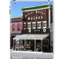 Silver Dollar Saloon, Leadville, Colorado iPad Case/Skin