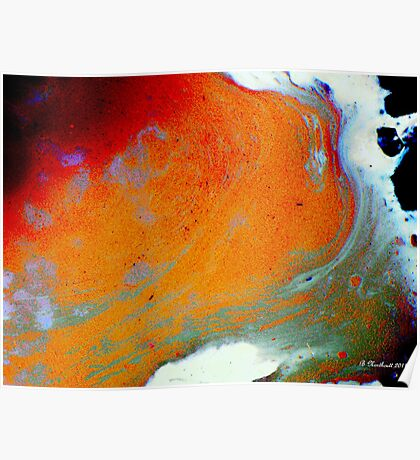 Shockwave - Color Explosion Abstract Poster