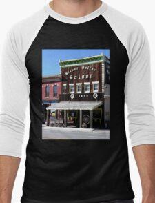 Silver Dollar Saloon, Leadville, Colorado Men's Baseball ¾ T-Shirt