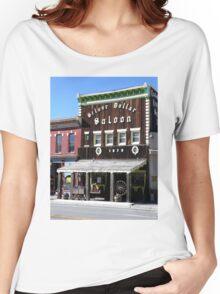 Silver Dollar Saloon, Leadville, Colorado Women's Relaxed Fit T-Shirt