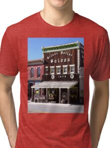 Silver Dollar Saloon, Leadville, Colorado Tri-blend T-Shirt