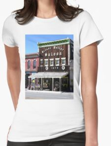Silver Dollar Saloon, Leadville, Colorado Womens Fitted T-Shirt