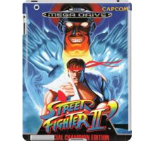 Street Fighter II Mega Drive Cover iPad Case/Skin