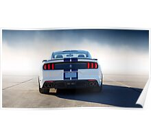 Ford Mustang GT-350 Rear Poster