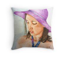 Madeli - 11th Birthday Tea Party Throw Pillow